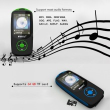 Bluetooth Sport MP3 Player 1.8 Inch Screen HIFI without Losing FM Recorder
