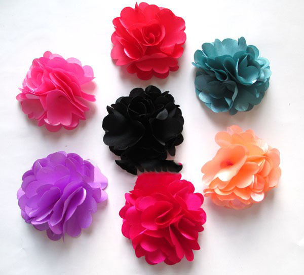 artificial flowers head Damask cloth simulation fake flower hydrangea flower corsage candy boxes decorated 6CM(China (Mainland))