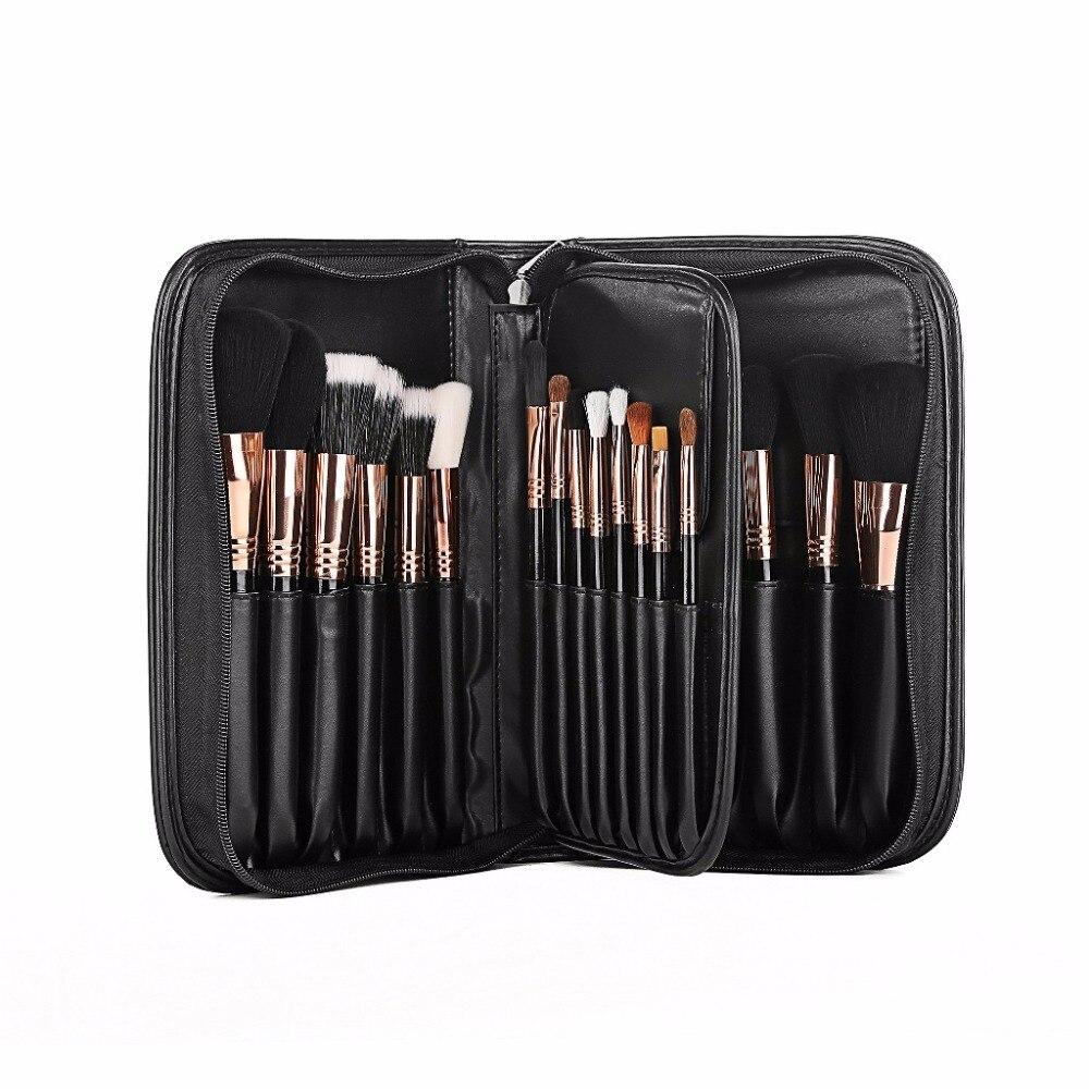 Full Professional Makeup Brushes New Arrival Cosmetic Make Up Brush Set 29 Pcs Foundation Eyeshadow Lip Contour Eyebrow Brush <br>