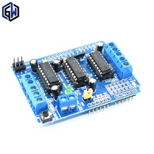 1pcs L293D Motor Drive Shield dual for arduino Duemilanove, Motor drive expansion board