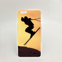 10283 NEW Skiing Special Hard transparent Cover cell phone Case for iPhone 4 4S 5 5S 5C 6 6S Plus 6SPlus