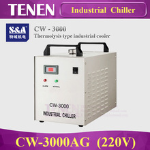 S&A CW3000 (220V) Industry Air Water Chiller for CO2 Laser Engraving Cutting Machine Cooling 60W 80W Laser Tube(China)