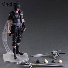 Final Fantasy Action Figure Play Arts Kai Noctis Lucis Caelum Anime Final Fantasy 15 Model Toys 270MM Play Arts Action Figure