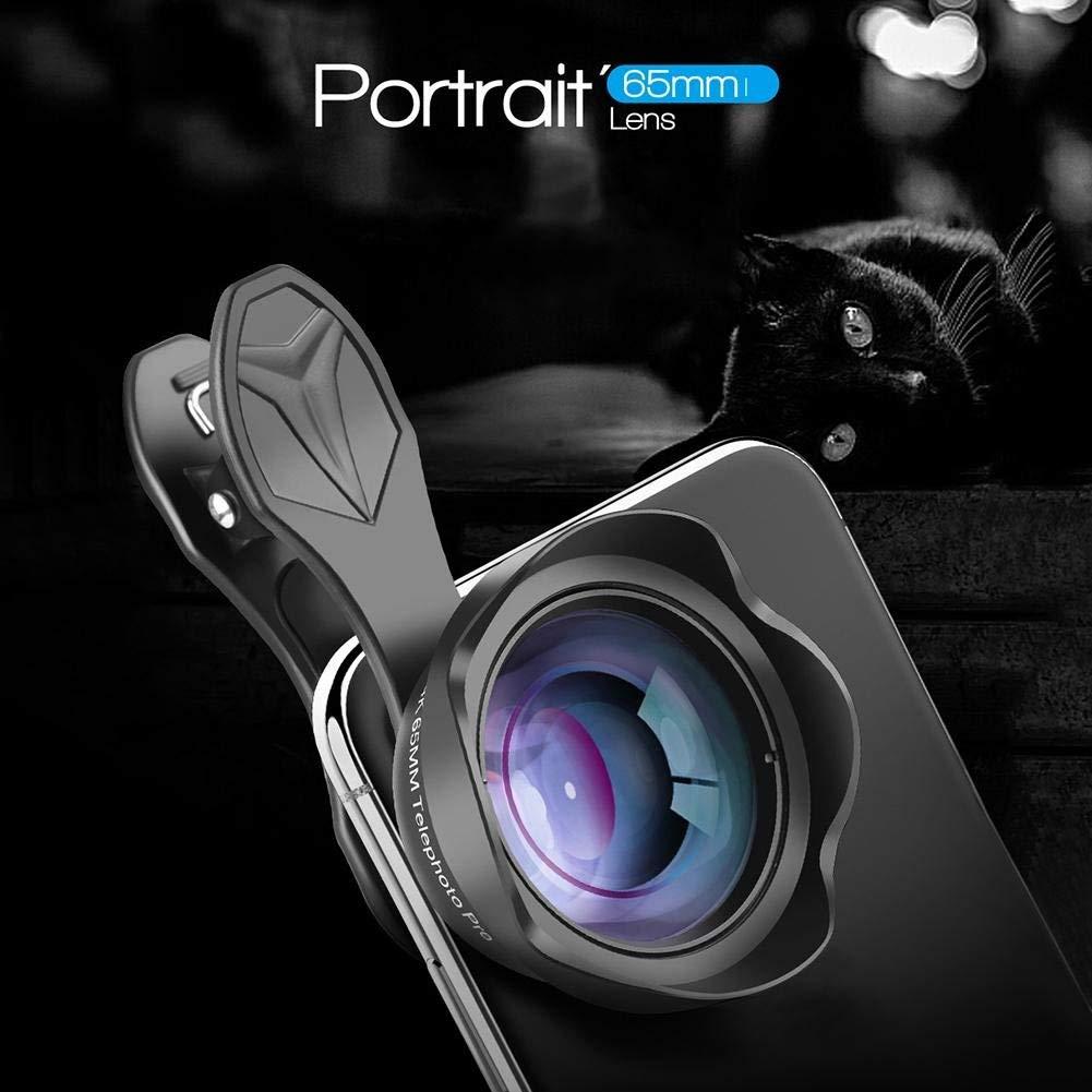 APEXEL 65mm Portrait Lens 8