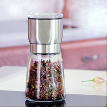 Pepper Bottles  Manual Grinder  Grain Nutmeg Mill  Food Grinder Muller Macinasale  Kitchen Accessories Mortar and Pestle  Y28