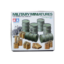 OHS Tamiya 35186 1/35 German Fuel Drum Set Assembly Military Miniatures Model Building Kits TTH