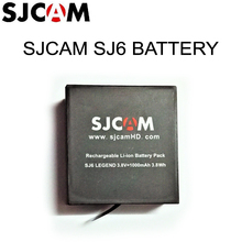 Original SJCAM Brand 3.8V 1000mAh 3.7Wh Li-ion Battery Black for SJCAM SJ6 LEGEND Sport Camera Batteries