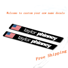 Buy 2017 Custom unique name national flag stickers MTB mountain road bike bicycle top tube race cycling decals free for $9.99 in AliExpress store