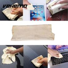 Vehemo Natural Chamois Leather Shammy Car Vehicle Cleaning Towel Wash Dry Cloth(China)