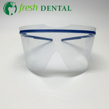 50PCS Dental disposable protective glasses Dental protection Goggles Mask affordable comfortable to wear dental materials SL710(China)