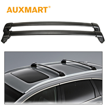 Auxmart Car Roof Rack Cross Bar For Honda CRV 2012~2016 Roof Rails 10.5cm  Load Cargo Luggage Carriers Baggage Bike 60kg/132LBS