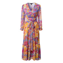 Buy Summer dress 2017 casual womens clothing long sleeve maxi dress loose long dress women for $26.08 in AliExpress store