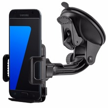 Universal Windshield 360 Rotating Car Phone Holder for Samsung GALAXY S5 S6 S7 Edge S8 S8 Edge 4-6 Inch Cellphone Mount Stand