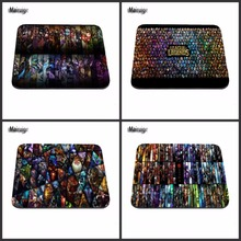 Computer Games Table Mat Super league of legends Logos Good Series Photo Print Rubber Rectangle Mouse Pad PC Computer Rubber Pad