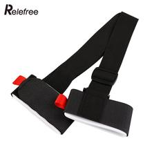 Relefree Sking Shoulder Straps Ski Pole Snowboard Bag Hand Handle Carrier Lash Porter Binding Protection Tie Board Adjustable(China)