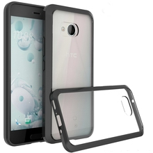 4 Colors Protection Fundas Coque Transparetn Air Cushion Case Crystal Clear Back Shell Shockproof Mask For HTC U11 U 11 Ocean(China)