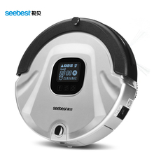 Robotic Vacuum Cleaner, LCD Screen, HEPA Filter, Auto Clean and Recharge Cleaning Robot, Seebest C565, Russia Warehouse