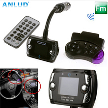 2017 New USB LCD Remote Handfree Auto MP3 Player Fm Transmitter Car Music System Car Kits Wireless Bluetooth FM Transmitter