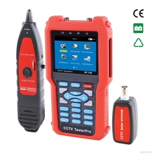 NOYAFA CCTV monitor testers CVBS signal cable tester tracker with multi-system color bar video generator NOYAFA NF-708
