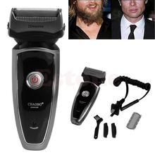 Men's Groomer Double Edge Trimmer Rechargeable Cordless Electric Razor Shaver US(China)