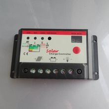 10A 12V 24V Solar panels Battery Charge Controller,10Amps lamp Regulator Timer for LED street lighting or solar home system