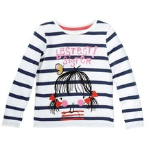 Buy Baby Girls Tops Children T shirts Long Sleeve 2018 Autumn Kids Tee shirt Spring striped Brand t-shirt children Clothing for $5.85 in AliExpress store