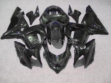 Motorcycle Fairing kit for KAWASAKI Ninja ZX10R 2004 2005 ZX10R 04 05 Complete Gloss black ABS Fairings set+7 gifts SF30
