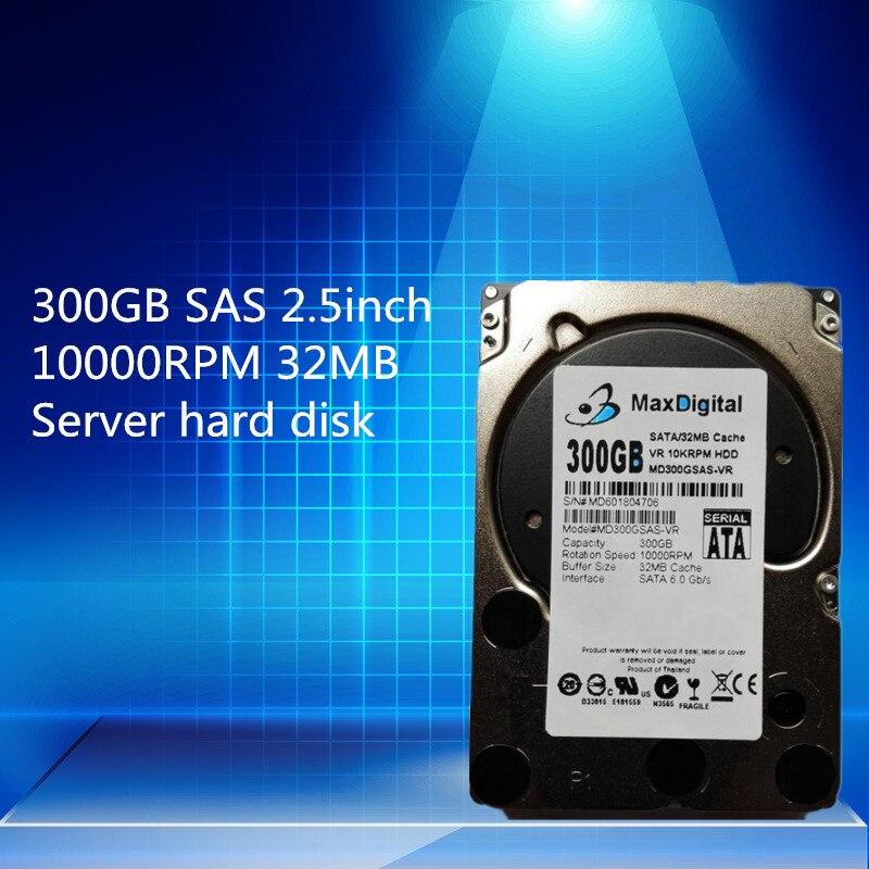 300GB SAS 2.5inch 32MB Server HDD ( Original Model: WD3001BKHG )  Warranty 1-year<br>