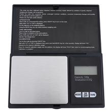 100g x 0.01g Portable Mini Electronic Digital Scales Pocket Case Postal Kitchen Jewelry Weight Digital Weighing Scale