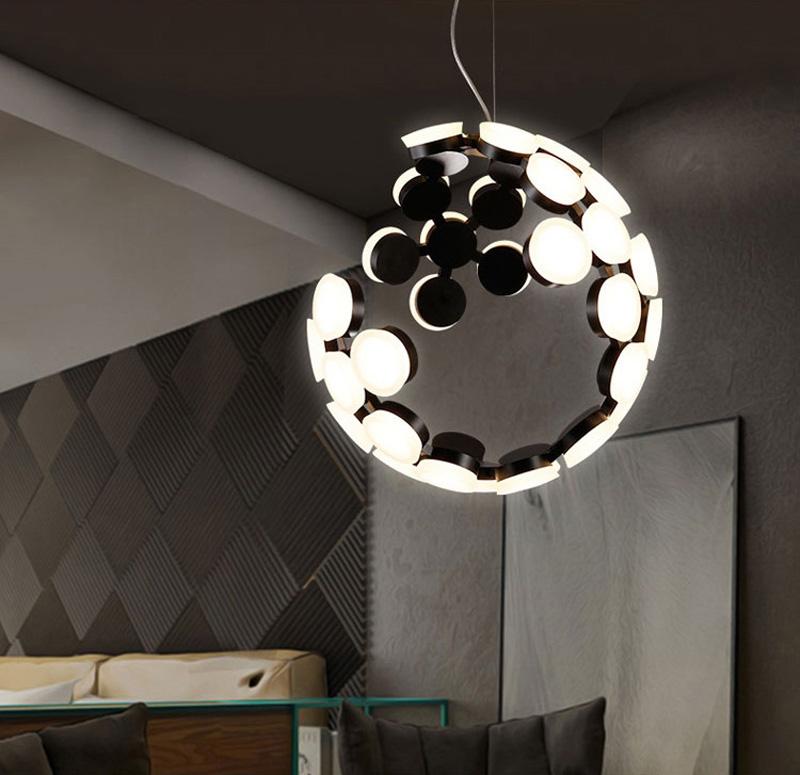 Horsten Nordic Postmodern Creative Pendant Light Art Decoration Personality Dining Room Pendant Lamp LED Hanging Lighting For Cafe Bar (3)