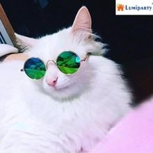 LumiParty Fashion Cool Cat Glasses Pet Dog Eye Protection Sunglasses Puppy Kitty Photo Props Toy-30(China)