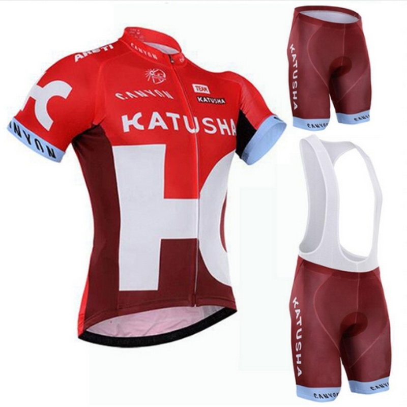 New summer breathable team katusha cycling jerseys Short sleeve 3D pants bicycle cloth MTB Ropa Ciclismo Bicycle maillot GEL<br><br>Aliexpress