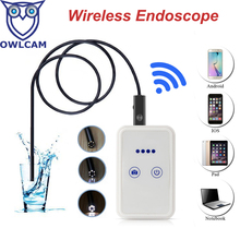 Newest 2MP Wifi Endoscope Support 30m Wifi Distance Android IOS Tablet Iphone USB Endoscope HTWE9
