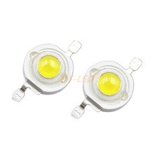 Buy 10pcs 1W 3W Cool Pure White Warm White Cold White 200~260LM LED Diode Emitter Bulb Light Lamp 3000k 4500k 10000k 20000k 30000k for $1.56 in AliExpress store