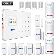 G18 English Voice GSM Autodial Home Security Fire Alarm System+iOS App/ Android App Alarmes