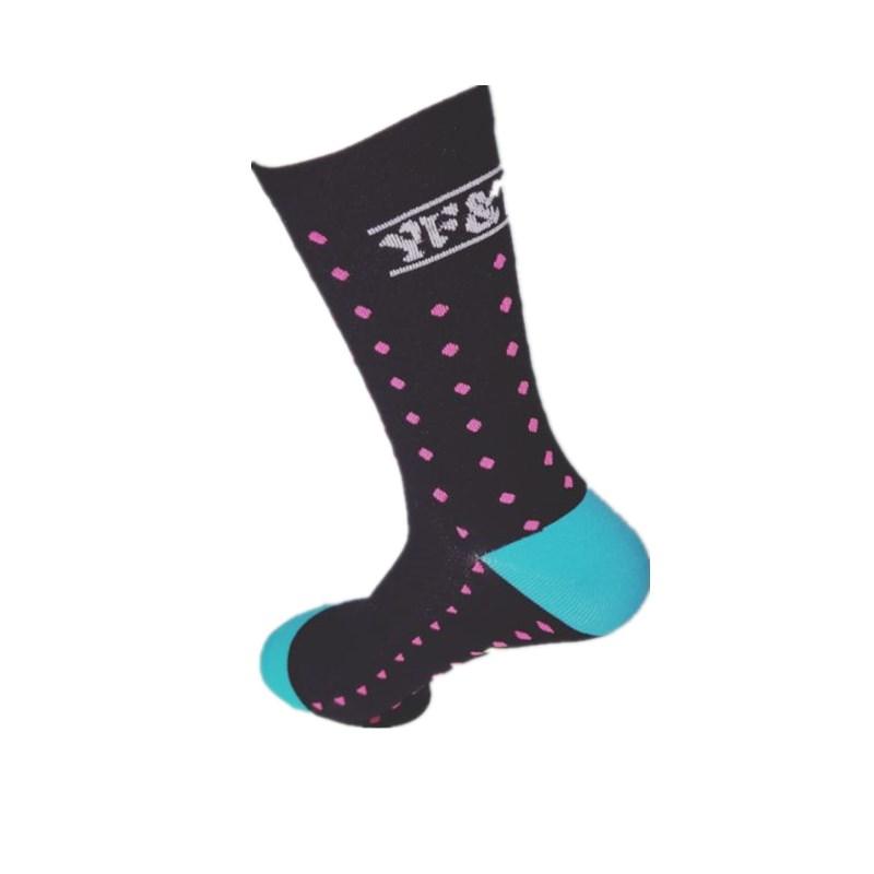 YF&TT Coolmax Men Cycling Sport Socks Bike Riding Socks Basketball Football Running Socks Fit For 40-46 9