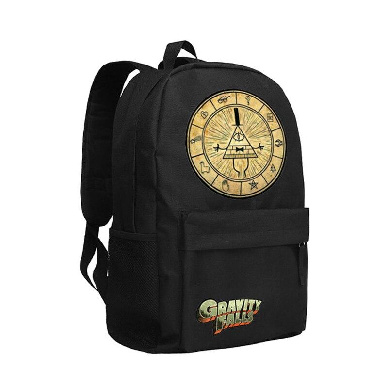 Zshop Kids Backpack Girls Gravity Falls School Bag Children Bookbag Bill Cipher Schoolbag Teenagers<br>