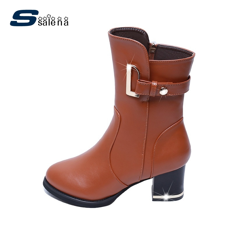 Winter Boots Women New Arrival High Quality Chelsea Boots Autumn Warm Shoes A889<br>
