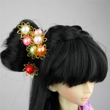 [wamami] 699# OOAK 1 pc Classical Ancient Bead Hairpin For 1/3 SD AOD DOD DZ BJD Dollfie(China)