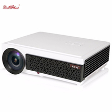 Poner Saund LED projector 5500Lumens lcd home theater cinema full hd tv support 1080P bluetooth pc lamp 3d beamer Media projetor