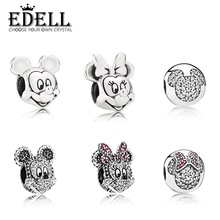 Buy EDELL lovely Charms bead Fits Original Charms Bracelets 100% 925 Sterling Silver Glass beads DIY Jewelry Gift for $11.54 in AliExpress store