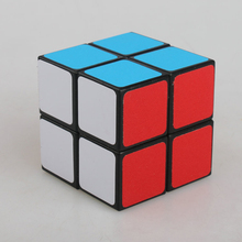 High Quality 2x2x2 Magic Cube Black Professional Cubes Magico Puzzle Speed Challenge Gifts Educational Toys