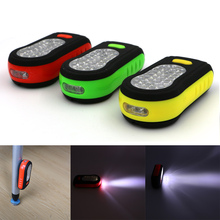 Portable LED Night Light 36 led flashlight 2 Modes Mini Camping Bicycle LIGHT Lamp Torch With Magnet and hook(China)