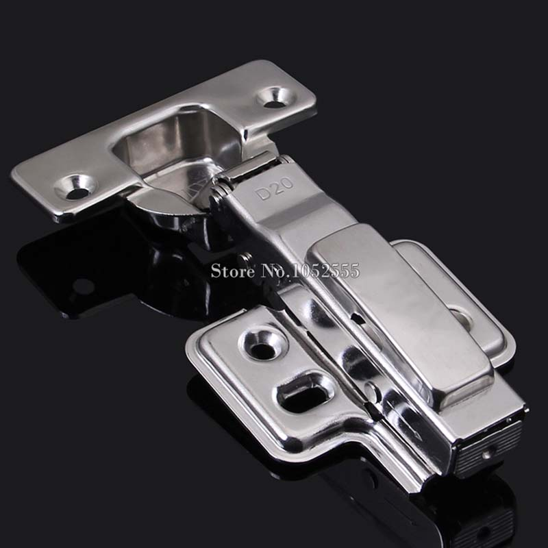 High Quality Buffer Hydraulic Kitchen Cabinet Hinges Full Overlay/Half Overlay/No Overlay Furniture Cupboard Door Hinge K129(China)