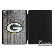 Green Bay Packers Football League Team Smart Cover Case For Apple iPad 2 3 4 Mini Air 1 Pro 9.7(China)