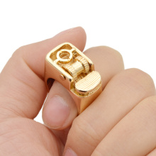 Novelty 18mm Decorative Finger Lighter Ring Punk Vintage Retro Steampunk Wedding Decor Ring