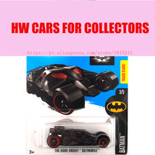 Hot Sale Hot Wheels 1:64 2016 batman series the dark knight batmobile cars Models Diecast Car Collection Toys Vehicle(China)