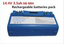 NEW iRobot Scooba 330 340 350 5800 NI-MH 14.4V3.5AH 3500mah rechargeable battery pack vacuum cleaner battery(China)