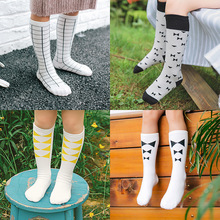 0-6T Baby Socks Kids Boy Girl Training Socks Cotton Newborn Knee High Tube Socks Infantil Socks Calcetines Children Accessories(China)