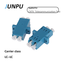 JUNPU 50pcs Carrier Class LC FC adapter Fiber Optic Cable Connector Optical Fiber Flange Fiber optic adapter(China)